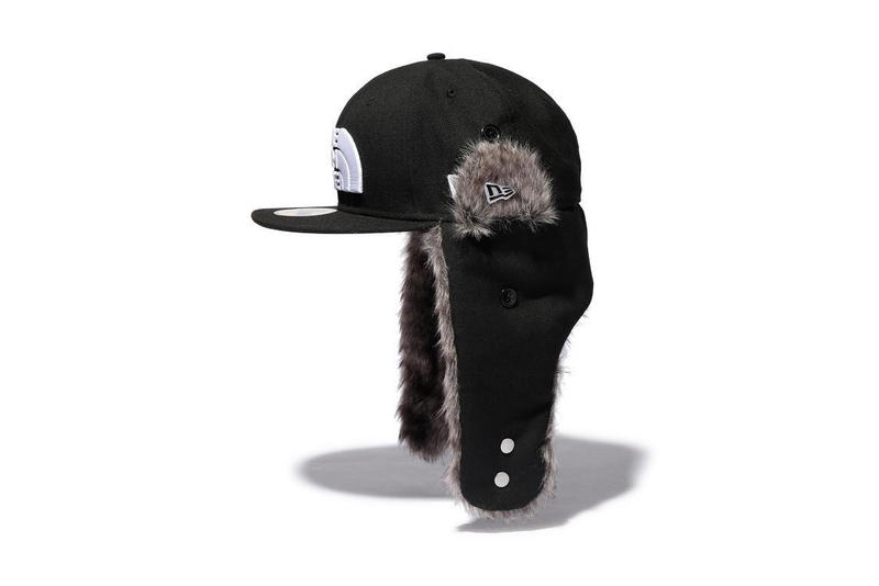 the north face new era hat cap collaboration trucker trapper fur 59 50 october 12 2018 release date drop info buy sell fall winter HYPEBEAST