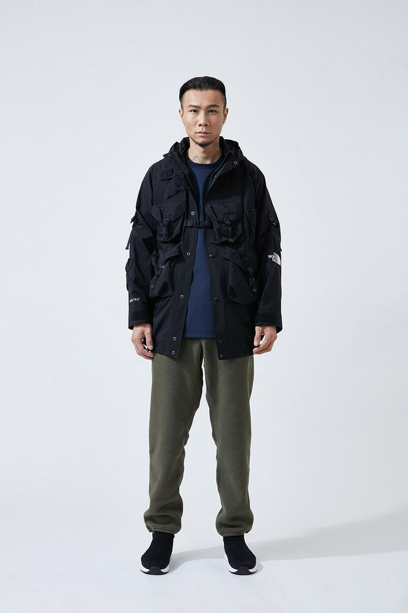 倉石一樹 ザ・ノース・フェイス kazuki kuraishi The North Face Urban Exploration black series collaboration Lookbook Cop Purchase Buy Collection drop release date info october 22 24 2018 HYPEBEAST ハイプビースト