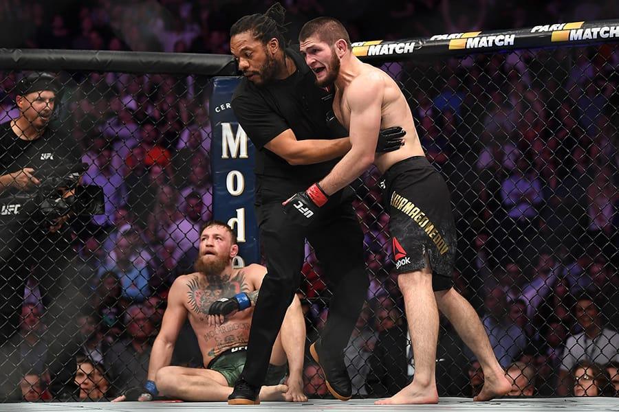 UFC 229 のマクレガー対ヌルマゴメドフ戦後に前代未聞の大乱闘が勃発
