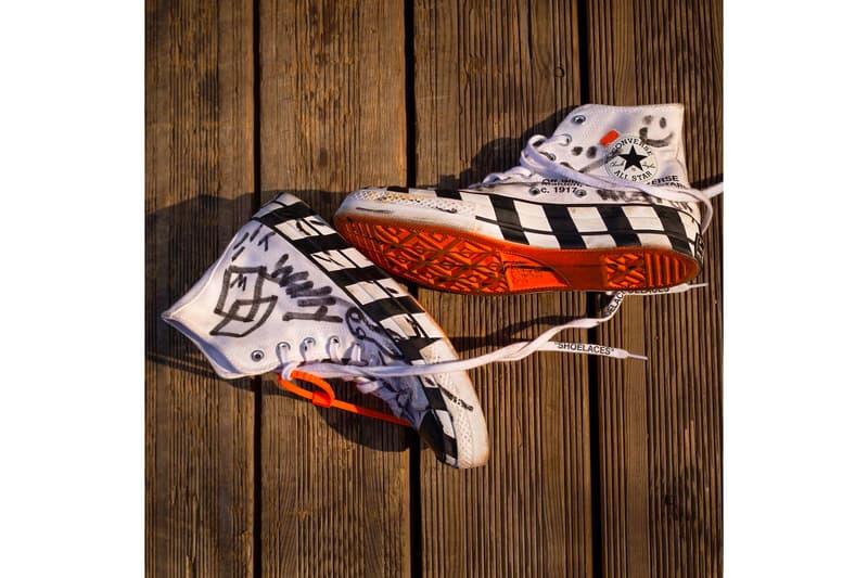 遂にヴァージル公認となった Off-White™️ x  Converse の最新コラボ Chuck Taylor All Star '70 が早くもスケートビデオに登場 オフホワイト ナイキ ヴァージル・アブロー コンバース スケーター