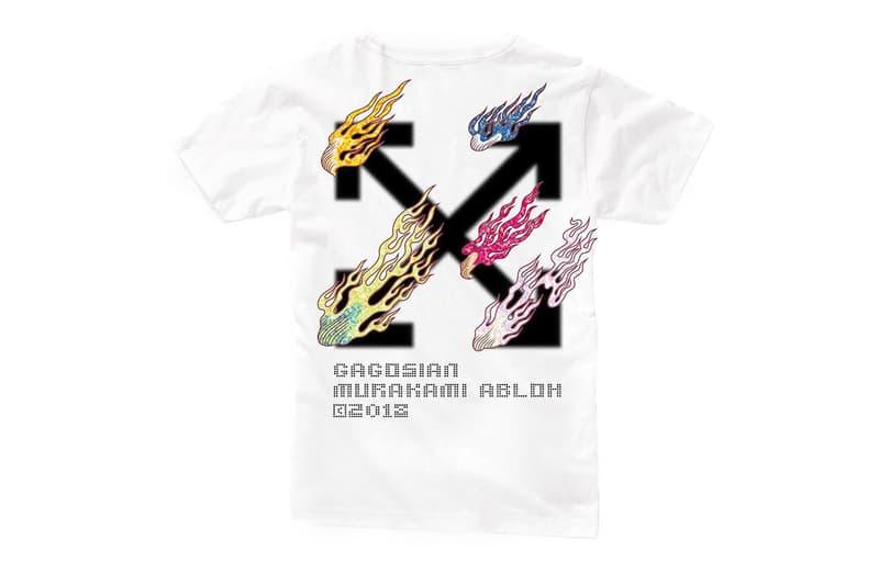 ヴァージル・アブローと村上隆がコラボエキシビション開催を記念したスペシャルTシャツをリリース virgil abloh オフホワイト off-white HYPEBEAST ハイプビースト