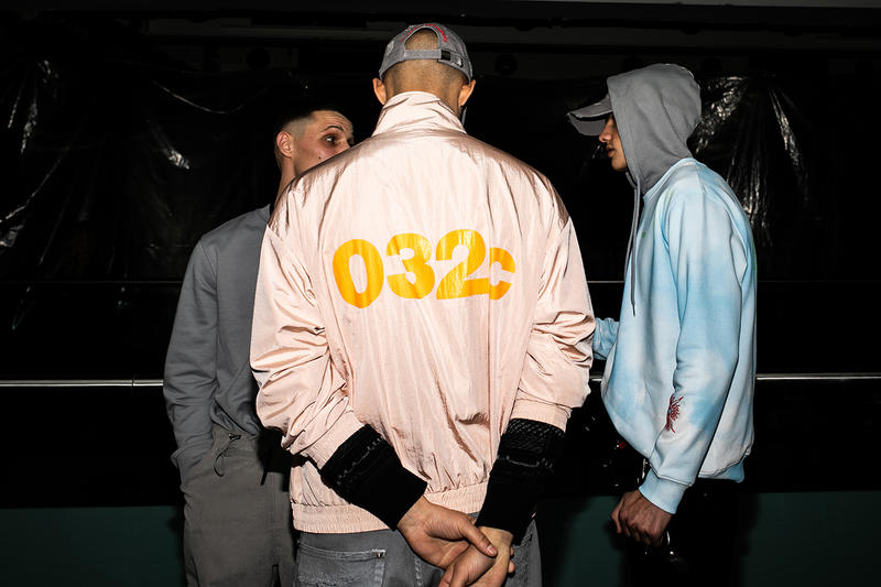 マリアコッホ ヨルグコッホ レイブファッション 032c Cosmic Workshop Second Menswear Collection Backstage First Closer Look London Joerg Maria Koch First Womenswear Backstage
