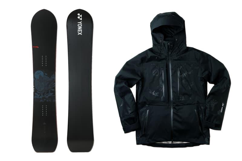 雪上でチラリと和アートが顔を出す 81 BASTARDS x YONEX SNOWBOARDS コラボコレクション ゲレンデで抜群のインパクトを放つ万能ボードと最軽量クラスのノンストレスジャケットが登場 ヨネックス スノーボード スノーウェア HYPEBEAST ハイプビースト