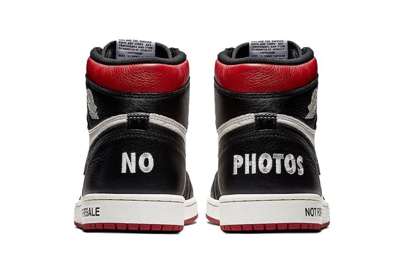 """転売カルチャーを皮肉った Air Jordan 1 """"Not For Resale"""" の国内発売情報が解禁 ナイキ エアジョーダン 1 スニーカー HYPEBEAST ハイプビースト"""
