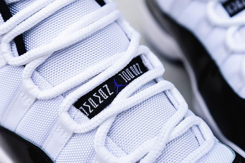 """エアジョーダン11 コンコルド Air Jordan 11 """"Concord"""" マイケルジョーダン MJ11 歴史 逸話 オンライン 転売 リリース 発売日"""