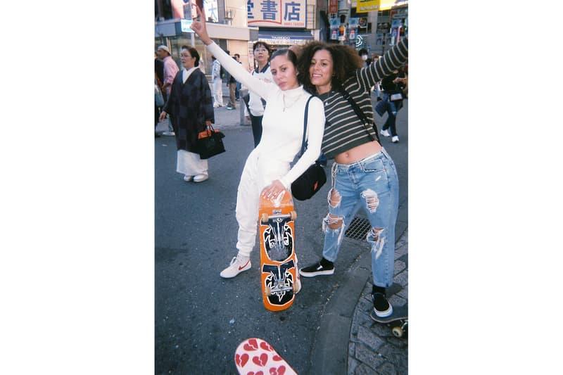 スケートキッチン Skate Kitchen マンハッタン ポーテージ Manhattan Portage 来日 HYPEBEAST ハイプビースト