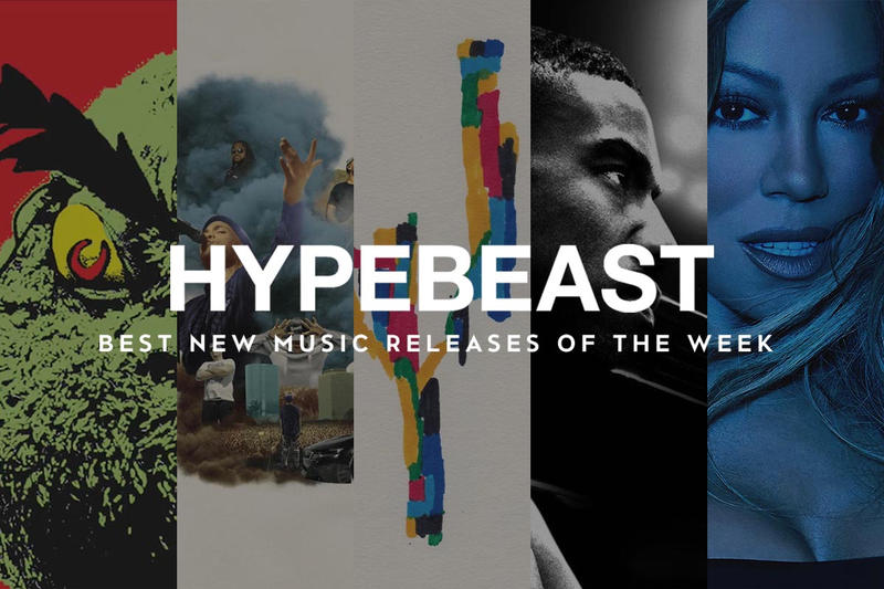 HYPEBEAST MUSIC PICKS Anderson .Paak  Tyler, The Creator  NAGAN SERVER  Mike WiLL Made-It  Mariah Carey