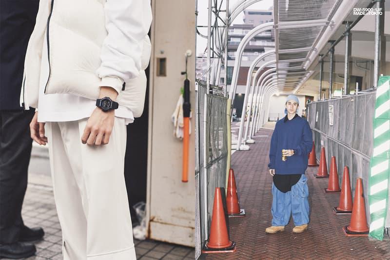 """90年代の東京で一世風靡した G-SHOCK の名機 """"3つ目モデル"""" が初の復刻リリース ブランド生誕35周年の節目に原点回帰し、伝説の3つ目モデルが東京の街に蘇る HYPEBEAST ハイプビースト DW-5900-1JF"""