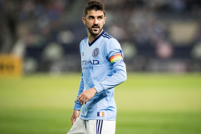ダビド・ビジャ Jリーグ 移籍 サッカー 加入 マリノス ニューヨーク・シティ プレー