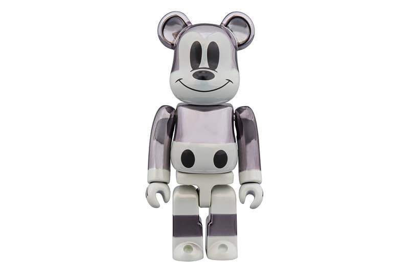 ベアブリック ミッキー 藤原ヒロシ フラグメント メディコム・トイ Medicom Toy  fragment design ミッキーマウス BE@RBRICK フラグメント デザイン