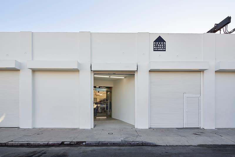 ドーバーストリートマーケット Dover Street Market Los Angeles ロサンゼルス 住所 場所 取り扱い 川久保玲 店内 ディスプレイ 建築