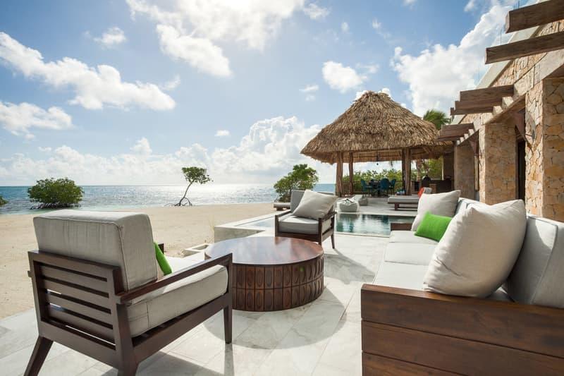 グラッデン・プライベート・アイランド・リゾート 旅行 リゾート カリブ海 ベリーズ 西半球 サンゴ 海 綺麗