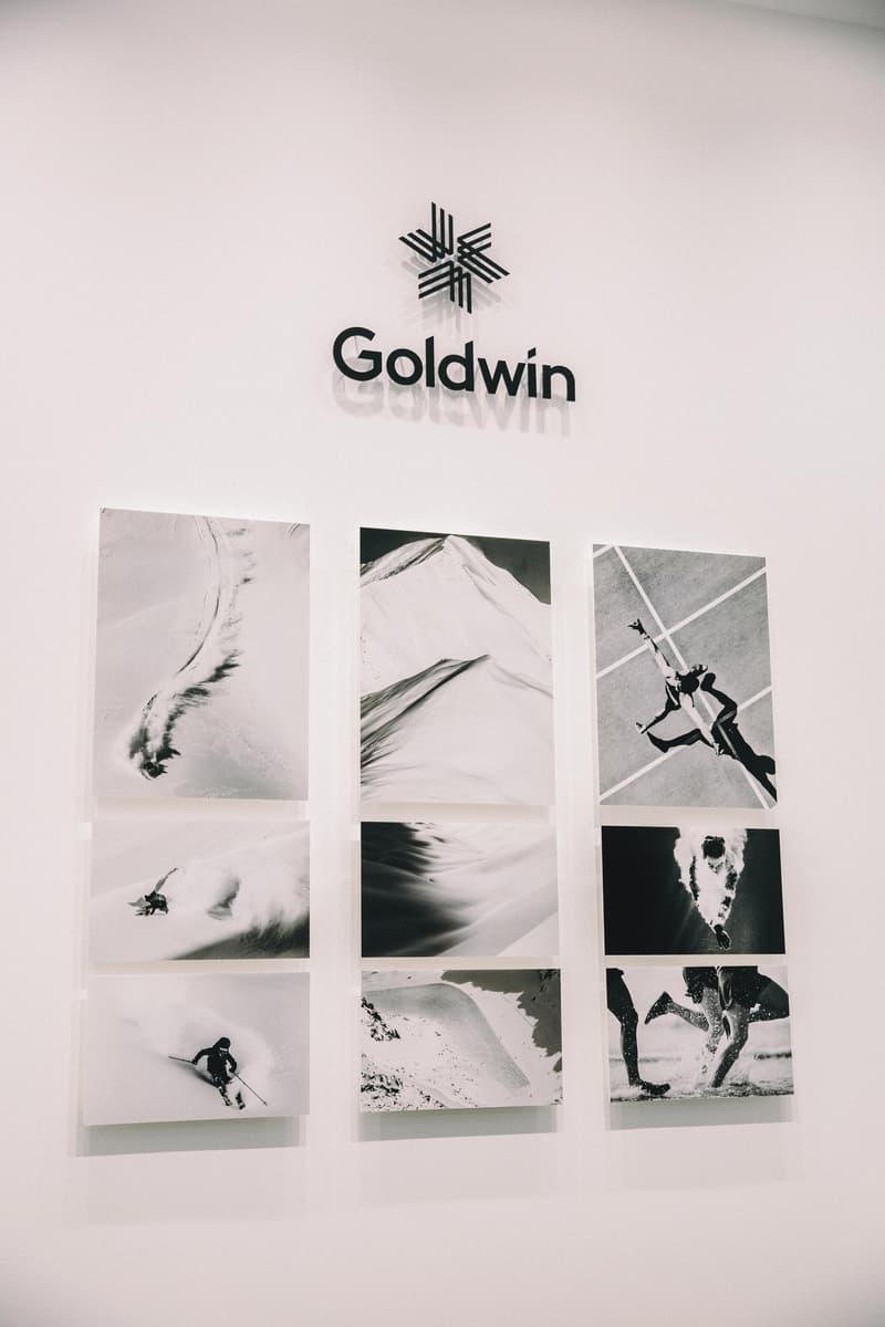 """東京の新名所にアウトドアスポーツ界の最大手 Goldwin が初の直営旗艦店をオープン スキーウェアの開発で培ったノウハウを駆使した〈Goldwin〉の高機能ウェアや世界的アートデザイナーとのコラボコレクションなど、""""男心くすぐるギア""""を多数ストック"""