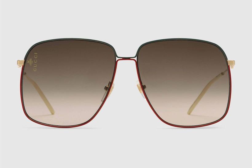 """Gucci 2018年秋冬アイウェアコレクションで表現する""""自由と若さ"""" 80年代から着想を得た顔を覆うほどビッグシェイプな個性派アイウェアから近未来的なカラーサングラスまで玄人好みの逸品が続々登場"""