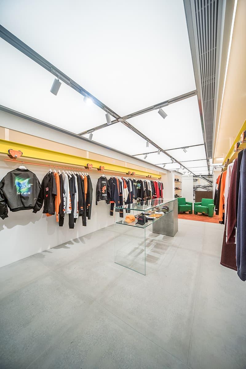 ヘロン プレストン Heron Preston 取り扱い オンライン 旗艦店 フラッグシップ ストアheron preston flagship store hong kong november 29 2018 open debut launch shop storefront