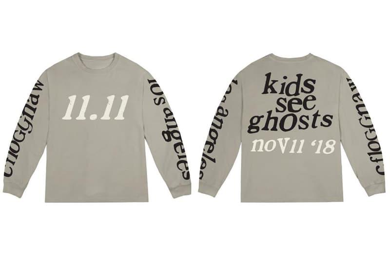 カニエ・ウェスト キッド・カディ キッズ・シー・ゴースト Kanye West と Kid Cudi による『Kids See Ghosts』が新作マーチアパレルを大量ドロップ