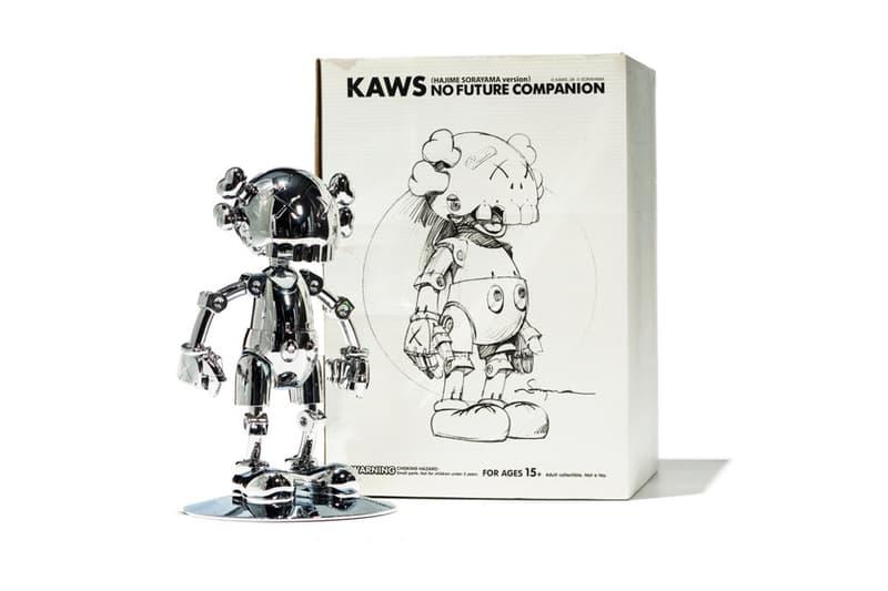 100体を超える KAWS の激レアフィギュアがオークションに登場 カウズ HYPEBEAST ハイプビースト