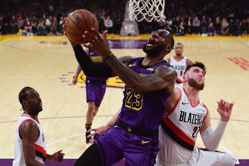 レブロン・ジェームズ lebron james NBA レイカーズ lakers 通算得点ランキング歴代5位に浮上