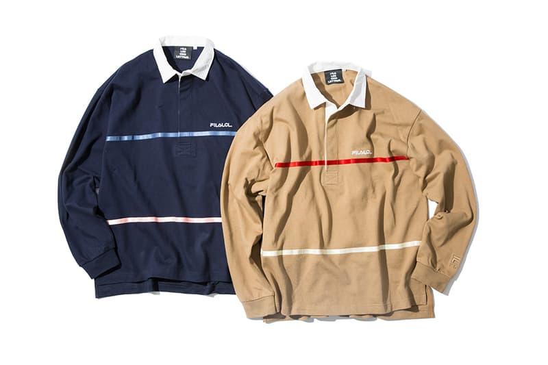 フィラ ビームス レ サンク レトル LES CINQ LETTRES FILA BEAMS T コラボ セットアップ ラガーシャツ パーカ Tシャツ