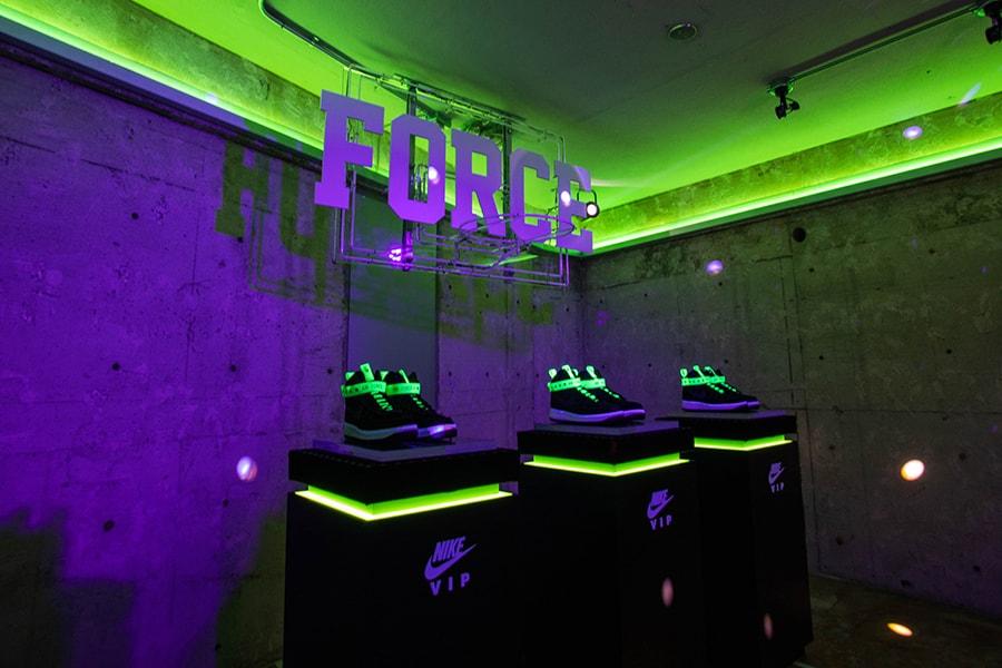 """エアフォース1 VIP """"Velour"""" マジックスティック MAGIC STICK Nike ナイキ ベロア アパレル オンライン MA-1 フーディ"""