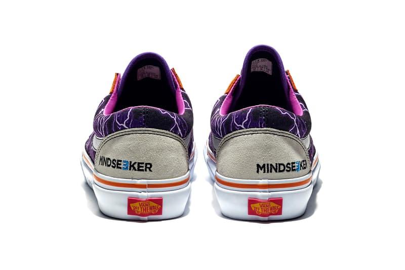 mindseeker マインドシーカー ヴァンズ バンズ Vans Old Skool オールドスクール ライトニング  サンダー Lightning 第2弾 スニーカー シューズ