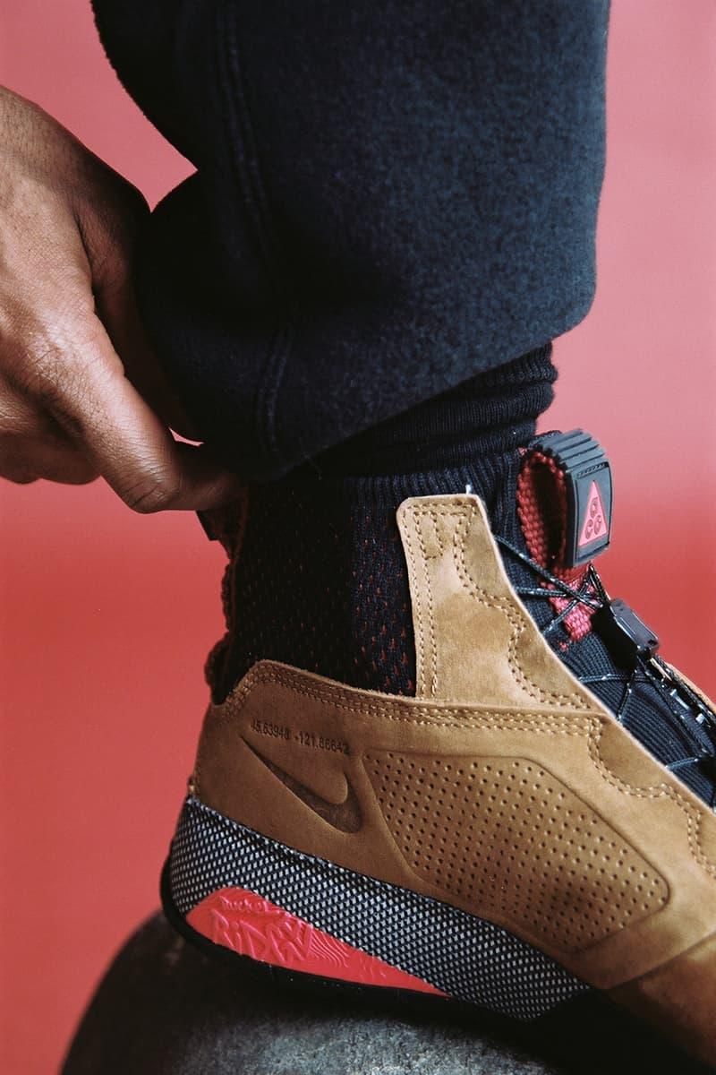 ナイキ ACG Nike ナイキ フリース エーシージー ルックブック ホリデーコレクション Nike ACG Apparel Footwear 2018 Holiday Collection Fashion Clothing Shoes Trainers Kicks Sneakers Cop Purchase Buy Lookbook