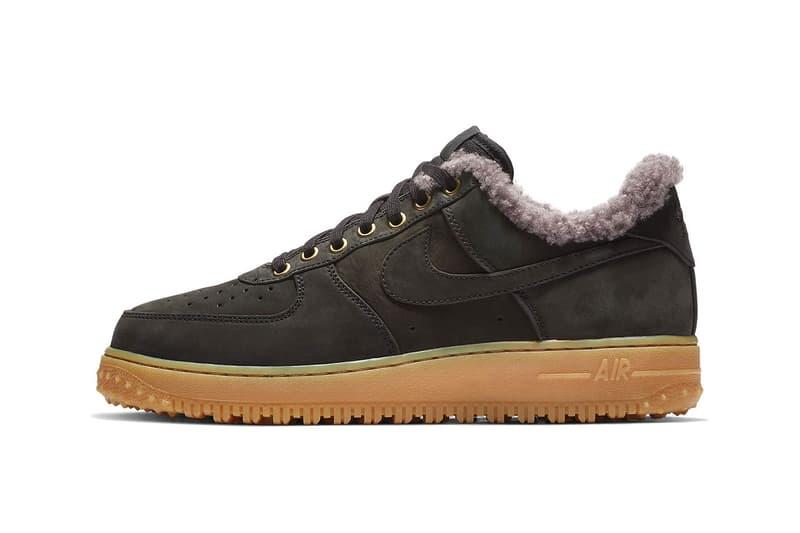 ナイキ エアフォースワン ウィンター Nike Air Force 1 Low Premium Winter Release Info Date Black Thunder Blue Gum Light Brown colorway sneaker HYPEBEAST ハイプビースト
