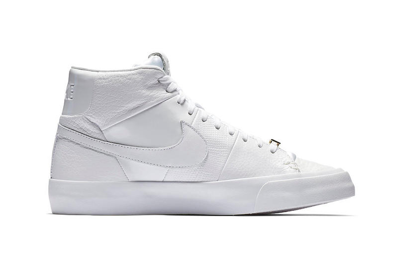 "ナイキ ブレザー オールホワイト レザー Nike Blazer Royal ""Triple White"" Release Date price november 2018"