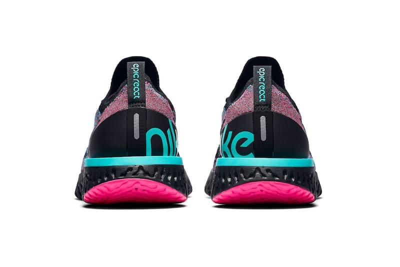 """ナイキ エピック リアクト フライニット Nike Epic React Flyknit に大人気カラー """"South Beach"""" が登場"""
