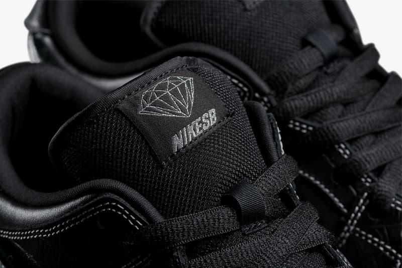 """ナイキSB x ダイアモンド サプライ ダンク スニーカー スケート Nike SB x Diamond Supply Co. によるコラボ Dunk """"DIAMOND"""" の国内リリース日が判明 HYPEBEAST ハイプビースト"""