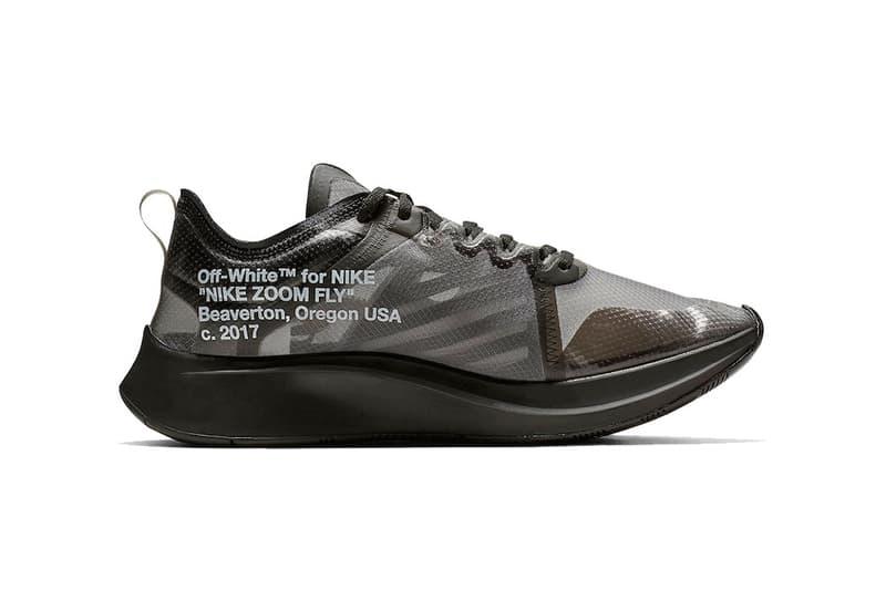 """オフホワイト ナイキ ズームフライ ブラック ピンク Off-White™ x Nike Zoom Fly SP """"Black"""" """"Tulip Pink"""" スニーカー オンライン 発売日 リリース"""