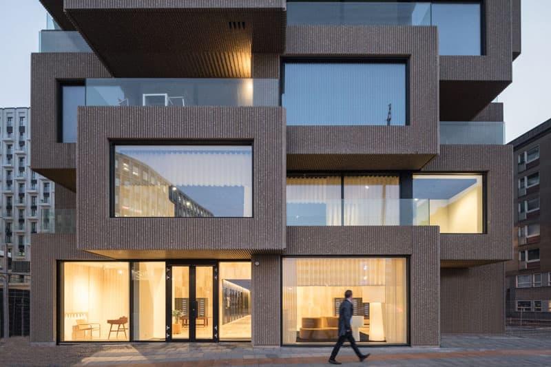 建築 ストックホルム ビル OMA Architects Innovationen Tower Opening Info architecture brutalism brutalist Stockholm tower residential homes apartments design