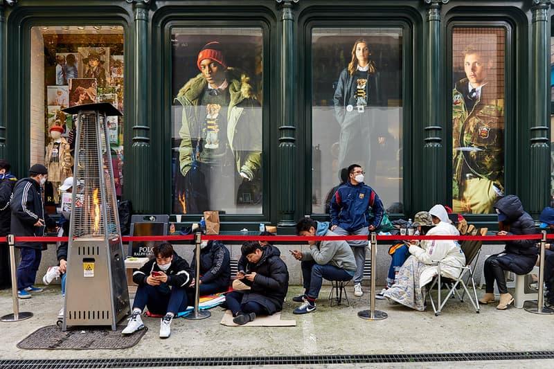 パレス ポロ ラルフ ローレン コラボ Palace Polo Ralph Lauren Garosu Seoul Release korea street style drop streetwear lines