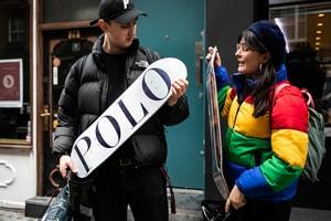 Palace x Polo Ralph Lauren のロンドンでのリリースの模様をフォトレポート形式でお届け