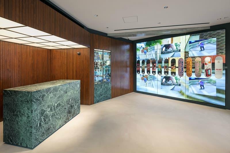 PALACE が東京・表参道にオープンした日本旗艦店の内部を大公開 パレス スケートボード HYPEBEAST ハイプビースト