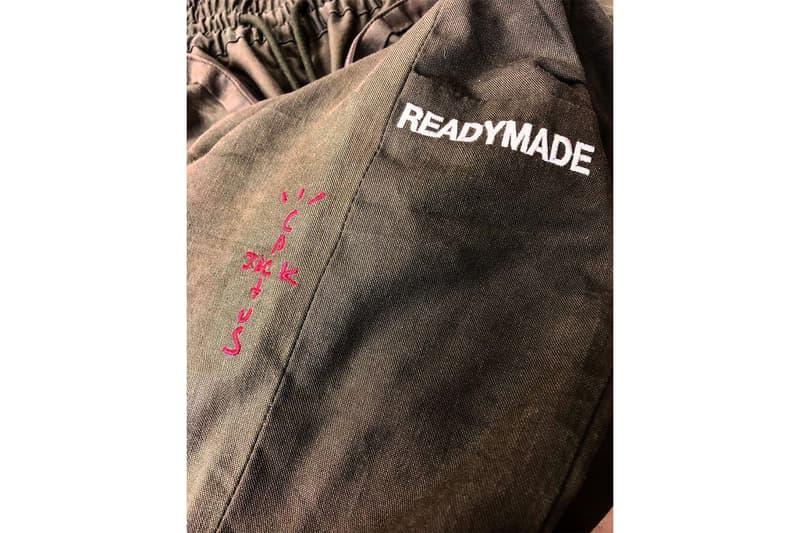 レディメイド トラヴィス・スコット READYMADE が Travis Scott のツアー衣装を公開