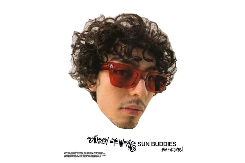 STÜSSY ステューシー Sun Buddies サンバディーズ コラボ サングラス