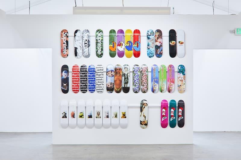 Supreme スケートデッキ アクセサリー 歴代 全種類 全て プレミア レア