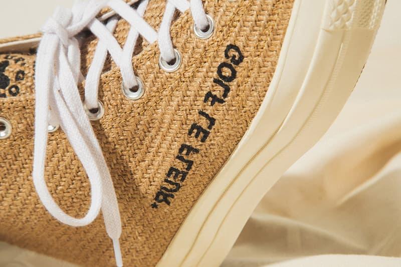 """ゴルフ ラ フルール コンバース ワンスター オールスター タイラーザクリエイター GOLF le FLEUR* x Converse """"Burlap"""" Pack On Foot Closer Look Tyler, The Creator Shoes Trainers Kicks Sneakers Footwear Cop Purchase Buy HBX Online Web Store HYPEBEAST"""