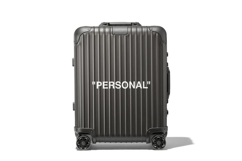 オフホワイト x リモワ Off-White™ x RIMOWA による第3弾コラボスーツケースの公式ビジュアルが解禁 topaz トパーズ HYPEBEAST ハイプビースト