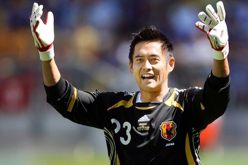 川口能活 引退 GK ゴールキーパー 日本代表 スーパーセーブ サッカー Yoshikatsu Kawaguchi Japan JFA