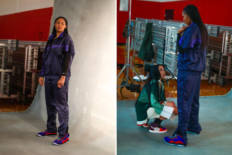 マヤ・ムーア アレイリ・メイ エアジョーダン ジョーダン ブランド コラボレーション スタイリスト バスケットボール選手 Aleali May Maya Moore Jordan Brand Air Jordans AIr Jordan 1 Court Lux Air Jordan 10 Court Lux release info stockist