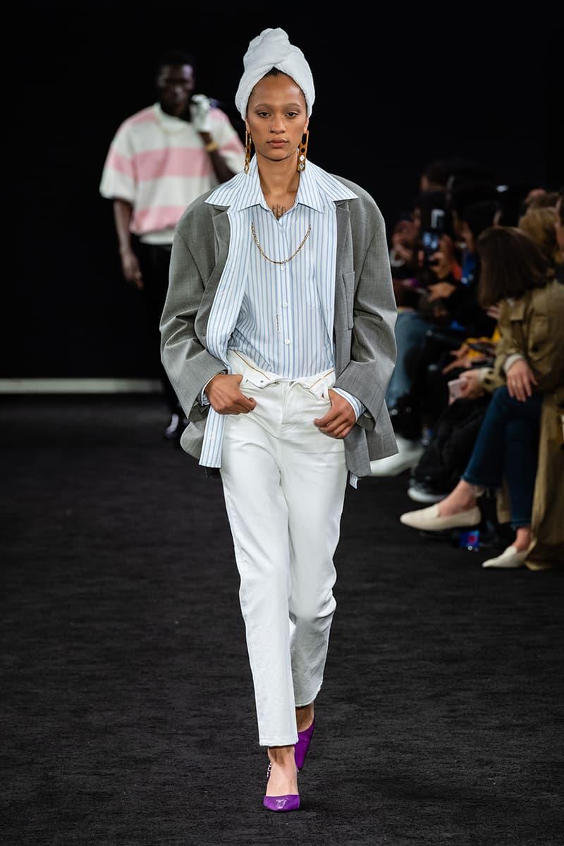 アレキサンダーワン プレフォールコレクション Alexander Wang Pre-Fall 2019 Runway Collection presentation new york city look style bag denim collection 2