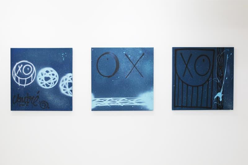 アンドレ・サレヴァ Futura フューチュラ André Saraiva コラボ アート 作品 Mr. A Pointman 展示 ストリート グラフィティ