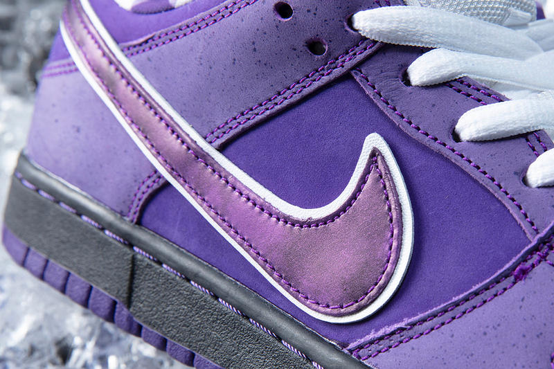 Concepts Nike SB Dunk Low Purple Lobster コンセプツ ナイキ ダンク ロウ パープル ロブスター スニーカー