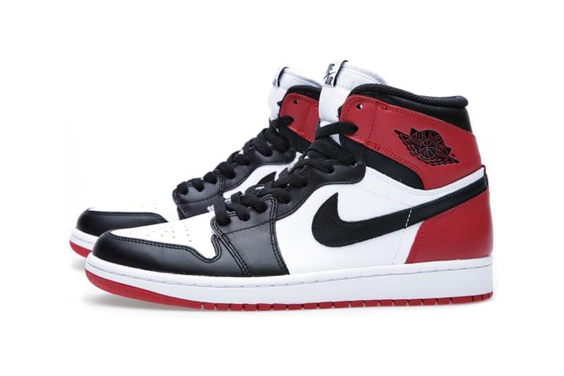 """フラグメントデザイン エアジョーダン 1 ナイキ ツマ黒 fragment design x Air Jordan 1 """"Black Toe"""" リーク 発売時期 発売日 リリース"""