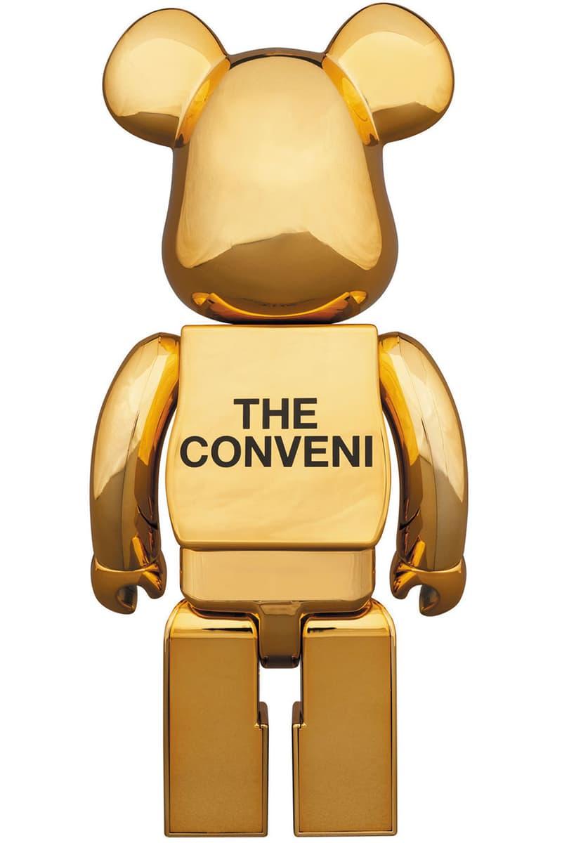 藤原ヒロシ フジワラヒロシ フラグメントデザイン ザ・コンビニ コラボレーション ベアブリック メディコムトイ fragment design THE CONVENI BE@RBRICK Figures medicom toy january 1 2019 hiroshi fujiwara collaboration black gold