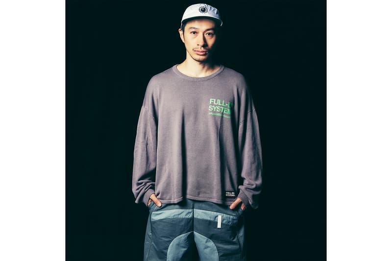 DJ DARUMA ダルマ フルビーケー FULL-BK 2019年 春夏 ルック ビジュアル スタイルサンプル