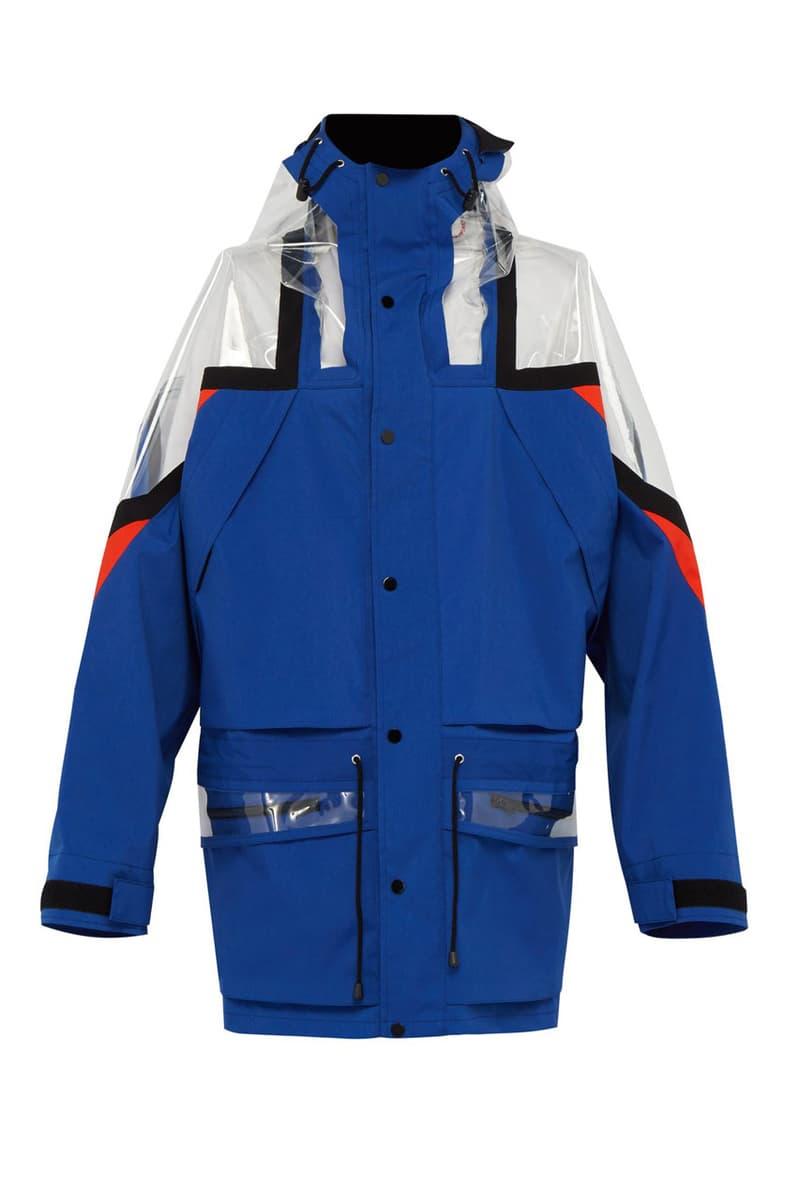 メゾンマルジェラ スキーウェア ジャケット ポリ塩化ビニル Maison Margiela PVC-Paneled Technical Jacket fall winter 2018 matchesfashion.com 5000 USD price collection martin