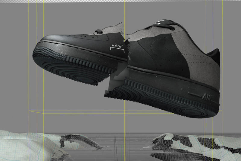 ア・コールド・ウォール x ナイキ A-COLD-WALL* x Nike による最新コラボ Air Force 1 Low の公式ビジュアルが解禁